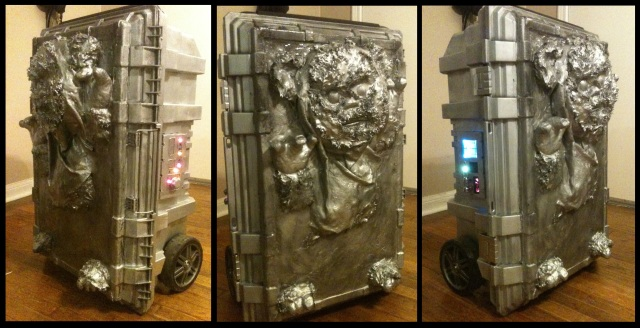 Carbonite Cooler Build, Triptych