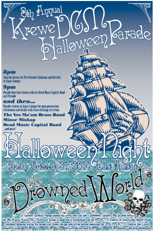 the Drowned World WebPoster